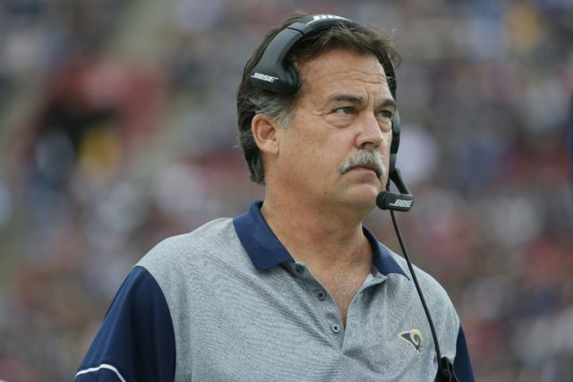 Los Angeles Rams' head coach Jeff Fisher has been fired after four months of poor performances by the NFL team