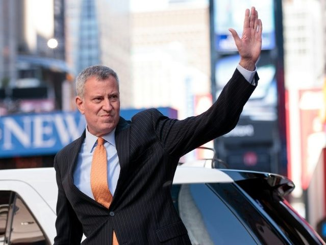 NYC's Bill de Blasio Guarantees 'Free' Health Care to All, Including Illegal Aliens