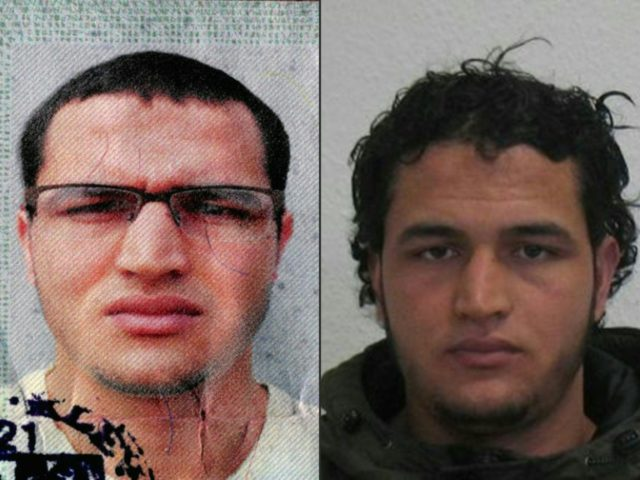 "German prosecutors have issued a Europe-wide wanted notice for 24-year-old Anis Amri, offering a 100,000-euro reward for information and warning he ""could be violent and armed"""