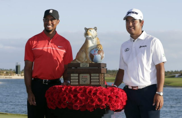 Hideki Matsuyama, Tiger Woods