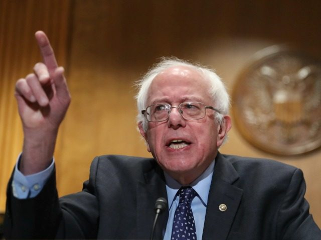 """Sen. Bernie Sanders, I-Vt., speaks during a news conference to deliver over million petition signatures demanding that President-elect Donald Trump, House Speaker Paul Ryan, and Senate Majority Leader Mitch McConnell """"keep their hands off the American people's earned Medicare benefits"""" on Capitol Hill in Washington, Wednesday, Dec. 7, 2016. ("""