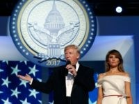Trump at Inaugural Balls: 'Now the Work Begins … We Are Not Playing Games'