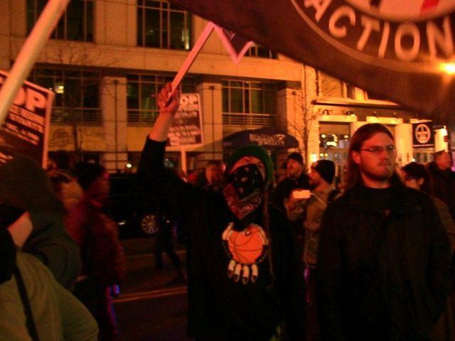 Anti-Trump Protest at Inauguration