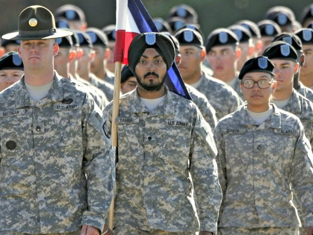 Army Turban, Beard - AP