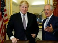 Bob Corker and Boris Johnson