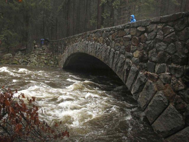 California storm (Gary Kazanjian / Associated Press)