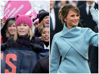 Chelsea-Handler-Melania-Trump-2-Getty