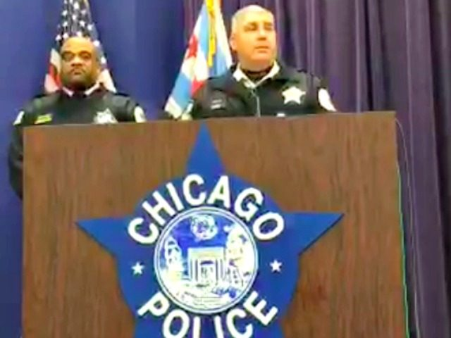 Chicago Police Press Conference screenshot
