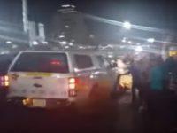 Child Run Over in Protest