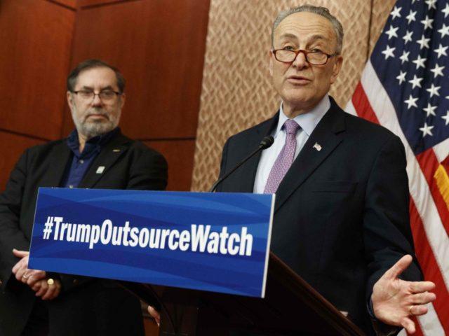 Chuck Schumer Twitter (Evan Vucci / Associated Press)