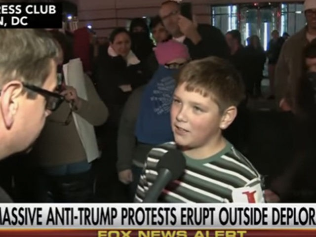 Drew Carey's son said 'screw our president' during Trump protest