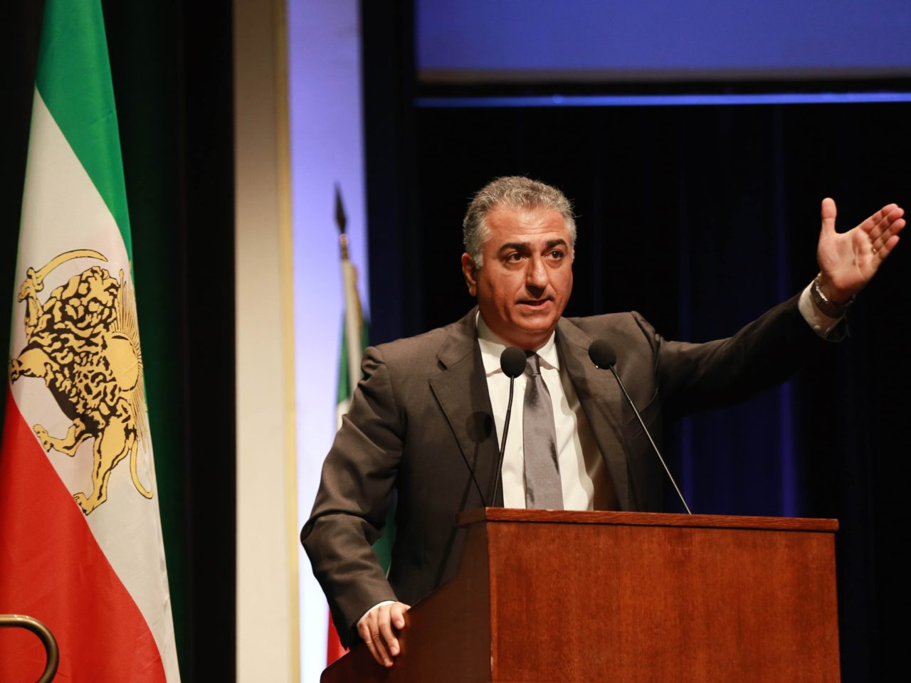 iran s crown prince pahlavi civil disobedience for a free iran