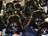 Darth Vaders (John D. McHugh / AFP / Getty)