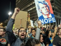 Democrat-anti-Trump-protesters-LA-Nov-9-2016-Getty