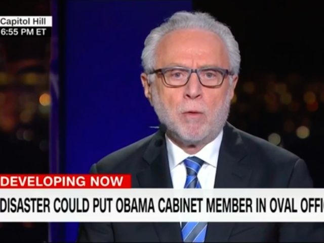 Disaster Wolf Blitzer (Screen shot / CNN / YouTube)