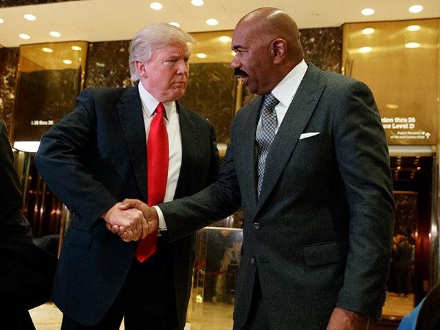 Donald-Trump-Steve-Harvey-AP