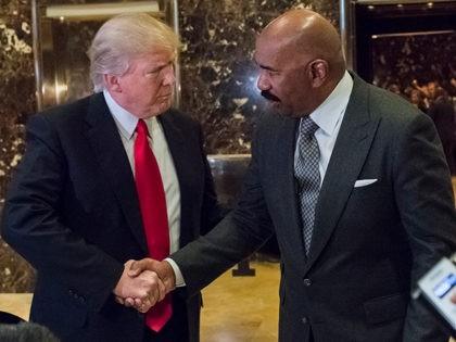 Donald-Trump-Steve-Harvey-Trump-Tower-Jan-13-2017-AP