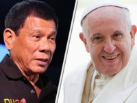 Philippines' Duterte: 'Priests Should Use' Methamphetamine Before Judging Drug War