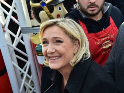 Le Pen Surges to Lead Presidential Polls in France