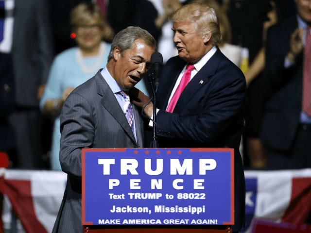 Farage Backs Trump Wall: 'I Wish Europe Had Done This Years Ago'