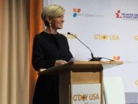 Julie Bishop (Joel Pollak / Breitbart News)