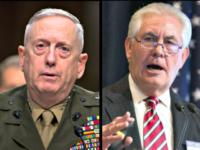 Gen Mattis, Rex Tillerson
