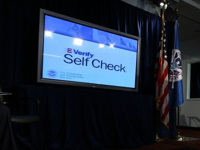 Secretary of Homeland Security Janet Napolitano speaks during a news conference to announce the launch of E-Verify Self Check service March 21, 2011 in Washington, DC.