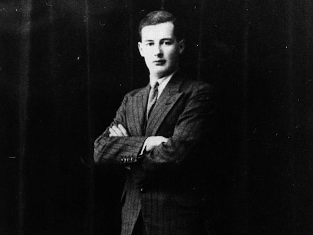 circa 1937: Swedish diplomat Raoul Wallenberg. (Photo by Keystone/Getty Images)