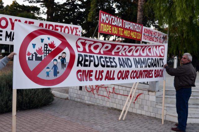 GREECE-EUROPE-MIGRANTS-PROTEST
