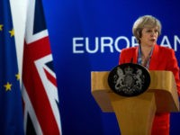 Theressa May Attends Her First EU Council Meeting As British Prime Minister