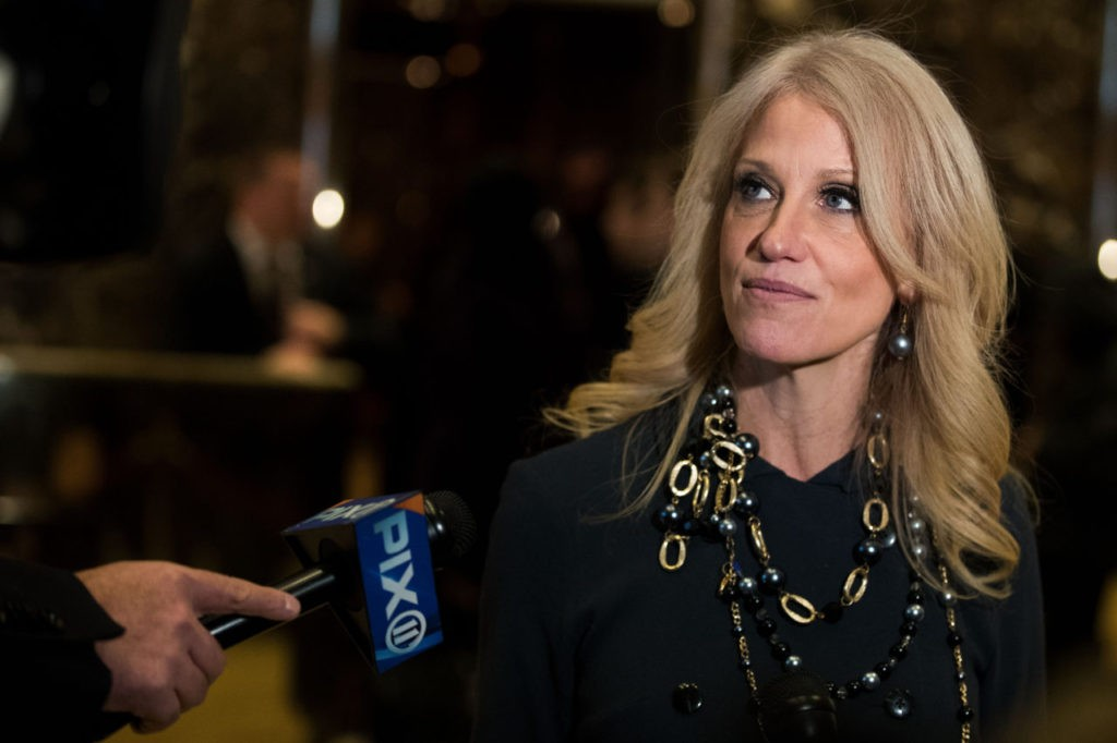Kellyanne Conway Blasts Staff 'Using the Press to Shiv Each Other in the Ribs'