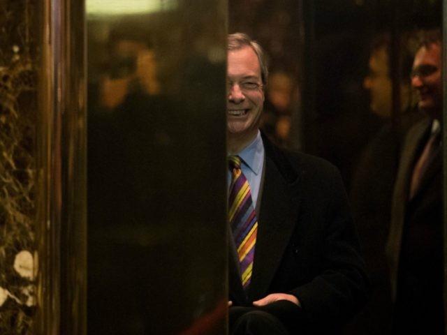 Nigel Farage Trump Tower