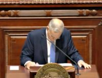 VIDEO: Minnesota Governor Collapses While Giving State of the State Address