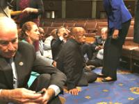 Gun Control Democrats_Sit Down AP