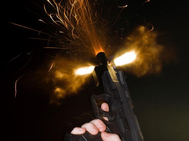 Gun fired in celebration - file photo Flikr !Koss