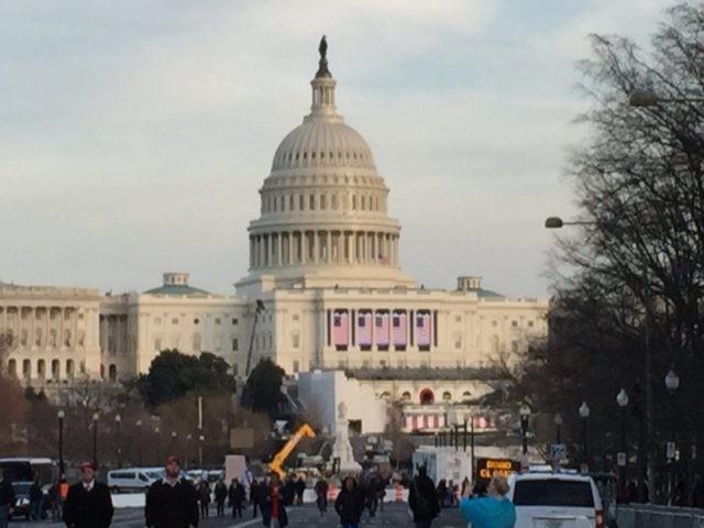 Capitol Inauguration (Joel Pollak / Breitbart News)
