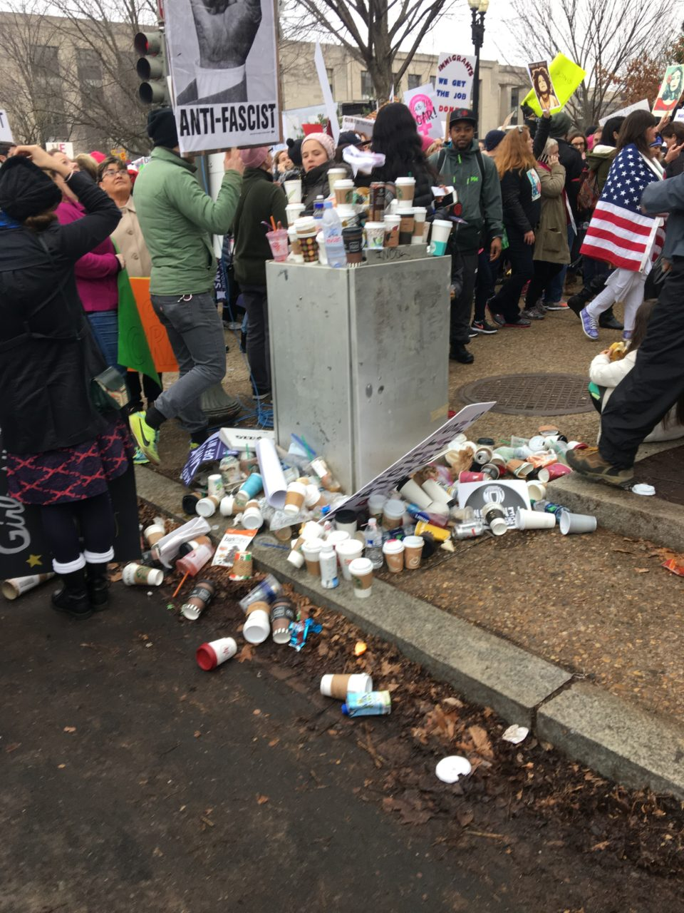Womens-March-DC-Garbage-Raheem-Kassam