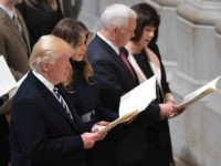Trump Attends Multi-Faith Inaugural Prayer Service, Then Meets with CIA