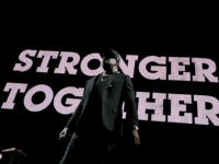 CLEVELAND, OH - NOVEMBER 04: Recording artist Jay Z performs during a Get Out The Vote concert Democratic presidential nominee former Secretary of State Hillary Clinton at Wolstein Center on November 4, 2016 in Cleveland, Ohio. With less than a week to go until election day, Hillary Clinton is campaigning …