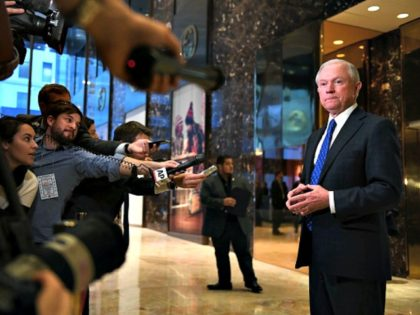 Jeff Sessions Trump Tower AFP
