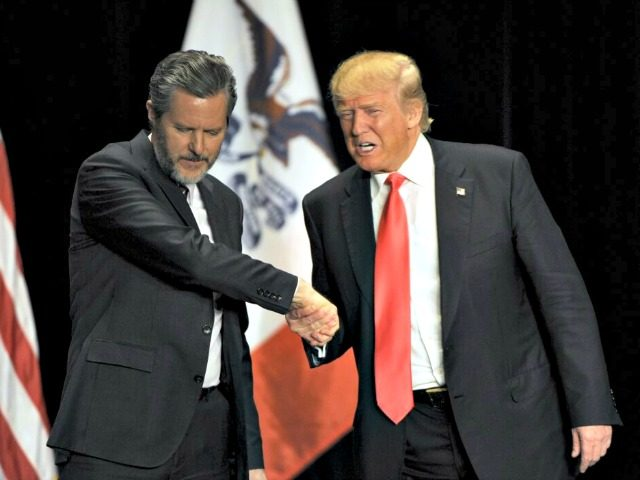 Jerry Falwell Jr. and Trump Reuters