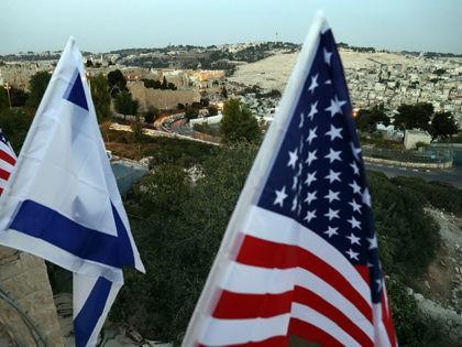 Jerusalem-US-flag-Israeli-flag-Getty