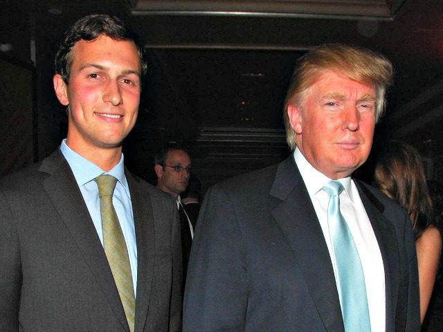 Kushner and Trump Getty