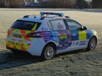 Police Hope LGBT Police Car Will Boost Reporting of 'Hate Crime'