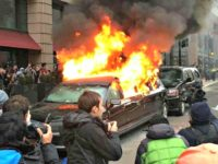 Red Alert Politics: Anti-Trump Protesters Torch Muslim Immigrant's Limo
