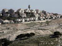 A partial view shows Israel's largest Jewish settlement Maale Adumim on the outskirts of Jerusalem on January 30, 2015. Israel published tenders to build 450 new settler homes in the occupied West Bank, a watchdog said, in a plan denounced by the Palestinians as a 'war crime'. AFP PHOTO / …