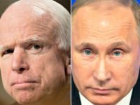 McCaine vs Putin AP Photos
