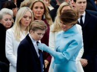 Chelsea Clinton Urges Leftists to Leave Barron Trump Alone