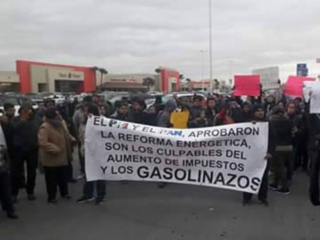Mexican gas protest