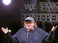 Michael Moore Kicks Off '100 Days of Resistance' with Star-Studded Protest Outside Trump Tower